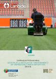 Portada de Gestión de la instalación y mantenimiento de céspedes en campos deportivos