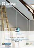 Portada de Instalación de placa de yeso laminado y falsos techos
