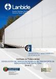 Portada de Conducción de vehículos pesados de transporte de mercancías por carretera