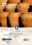 Portada de Zeramika-produktuen fabrikazioa antolatzea